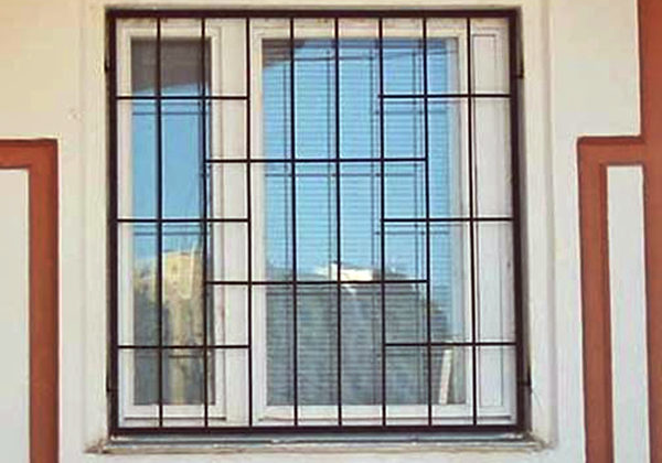Самые простые решетки на окна