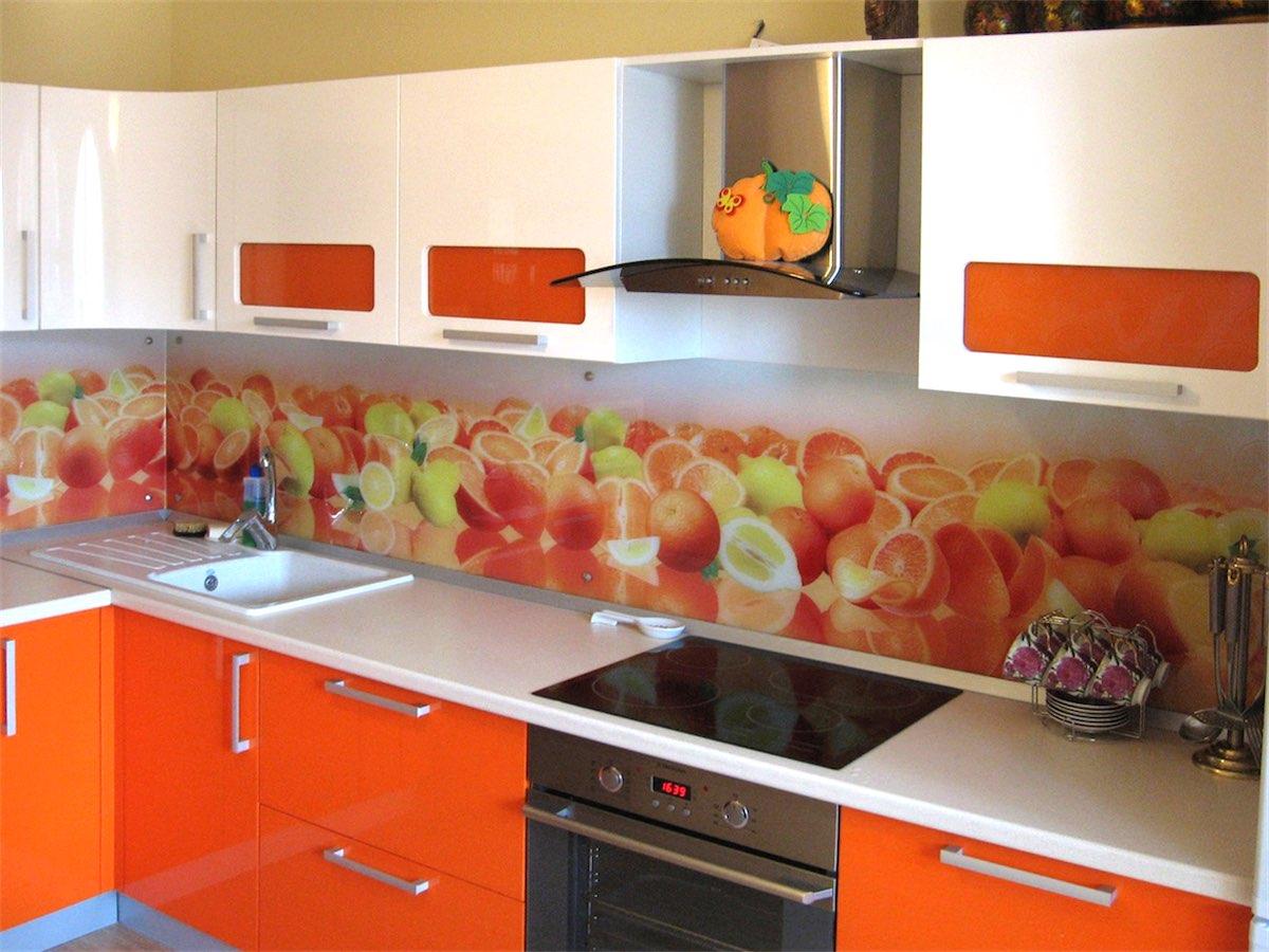 расскажем скинали для бело оранжевой кухни цветы фото урожайный, ягоды после