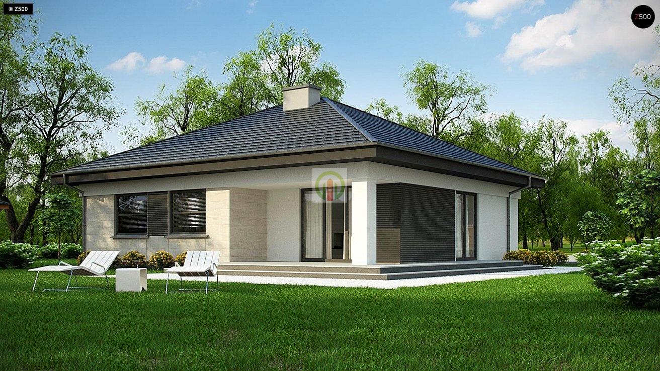 одноэтажные дома из пеноблоков до 100